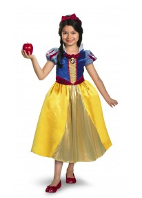 Deluxe Shimmer Snow White Costume