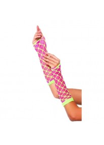 Dual Net Neon Arm Warmer