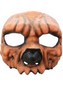 Jack Pumpkin Half Mask