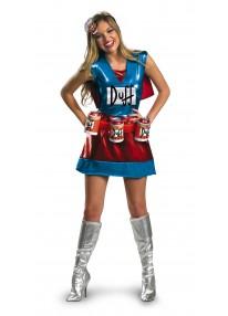Deluxe Duffwoman Costume