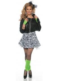 Rockin The 80's Adlut Costume
