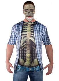 Skeleton Shirt Costume