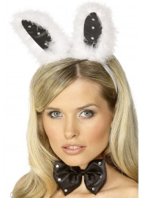 Bunny Set Black And White