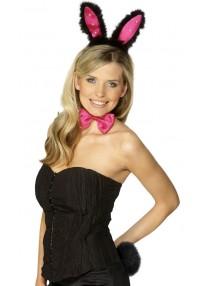 Bunny Set Pink And Black