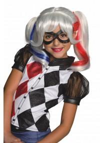 Harley Quinn Kids Wig