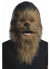 Chewbacca Moving Mouth Adult Mask