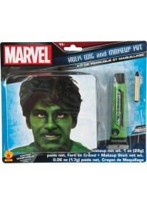 Hulk Wig & Makeup Kit