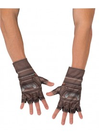 Captain America Adult Gloves