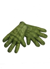 Hulk Adult Gloves