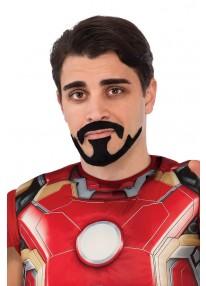 Tony Stark Moustache & Goatee