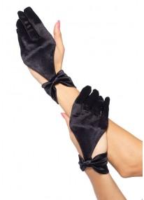 Satin Cut Out Glove
