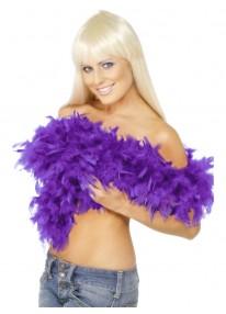 Deluxe Boa Purple Feather