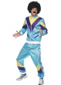 80s Height Of Fashion Track Suit Costume