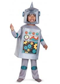 Retro Robot Toddler Costume