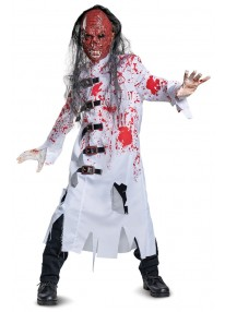 Deluxe Demented Doctor Child's Costume