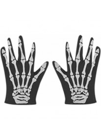 Skeleton Gloves - Adult