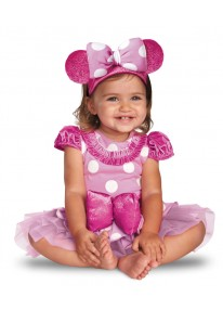 Pink Minnie Prestige Infant Costume