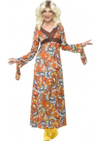 Woodstock Maxi Dress Costume