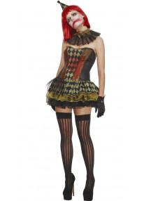 Creepy Zombie Clown Costume