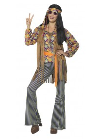 60's Hippie Singer Women's Costume
