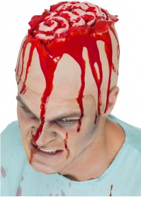 Brain Latex Head Cap