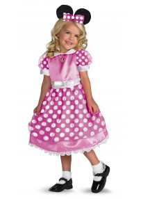 Clubhouse Minnie Mouse Pink Costume
