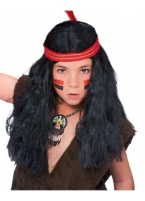 Native American Kids Wig