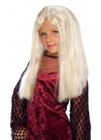 Kids Witch Wig Blonde