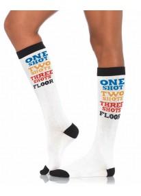 Shot Time Knee Socks