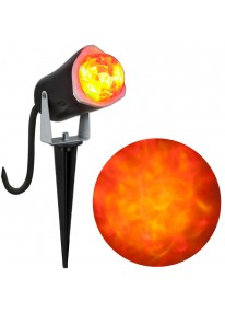 Outdoor Lightshow Spot Light - Fire & Ice - Red