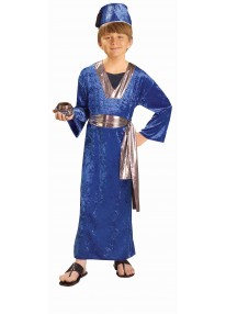 Blue Wise Man Costume-Child