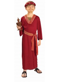 Burgundy Wise Man Costume