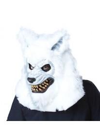 White Lycan Ani Motion Mask