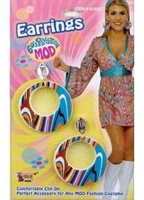Wild Swirl Mod Earrings
