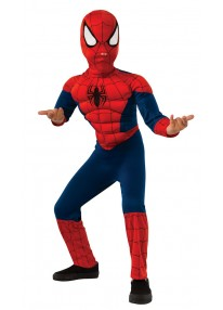 Deluxe Ultimate Spider Man Kids Costume