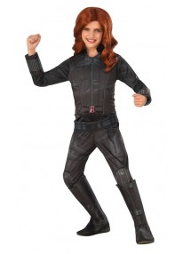 Deluxe Black Widow Kids Costume