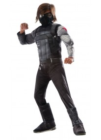 Deluxe Winter Soldier Kids Costume