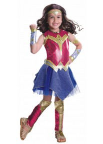 Deluxe Wonder Woman Kids Costume