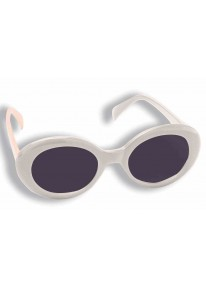 Mod Tinted Glasses White
