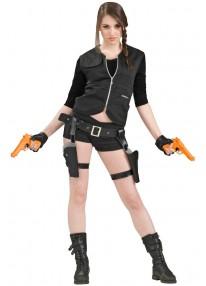 Treasure Huntress Holster With Gun