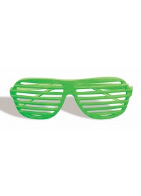 Slot Glasses Neon Green