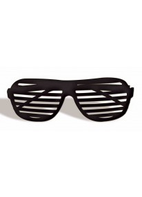 Slot Glasses Black