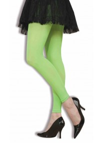 Footless Tights Neon Green