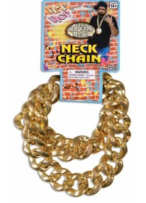 Big Links Neck Chain Gold