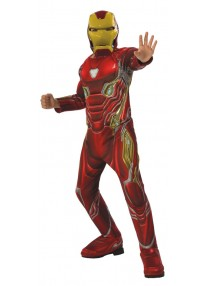 Deluxe Infinity War Iron Man Child Costume
