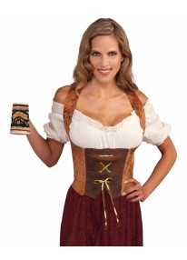 Corset Top Brown
