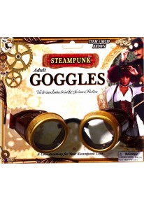 Steampunk Goggles Brown