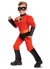 Classic Dash Muscle Toddler Costume