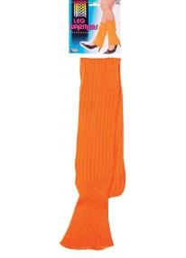 Neon Leg Warmers Orange