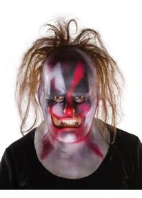 Clown Slipknot Full Mask with Hair